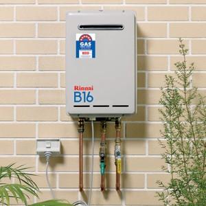 HOT WATER SERVICE rinnai B16 HWS