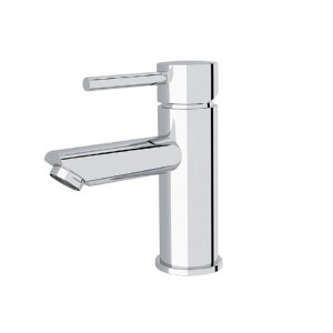 ORB inset basin mixer chrome