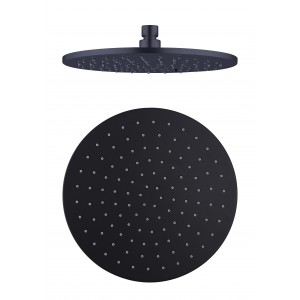 NOVA rain shower head 200mm black