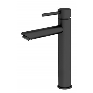 ORB tall basin mixer matt black