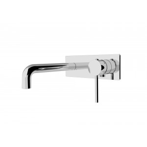 ORB  wall spout & mixer combination chrome